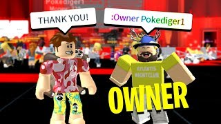 HE GAVE ME EVERY OWNER COMMAND.. (Roblox)