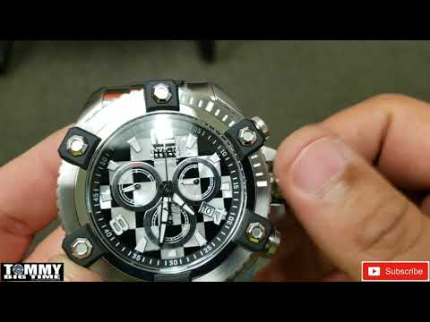 Setting The Time, Date And Day Of The Week On An Invicta Z60 Movement