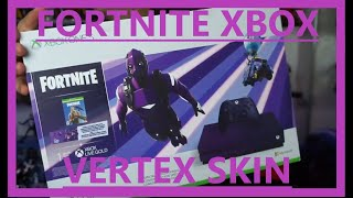 XBOX ONE S FORTNITE SPECIAL EDITION UNBOXING COMPARISON [Peau de Vertex foncé]
