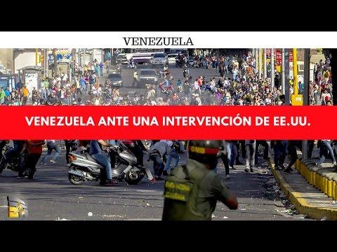 Venezuela ante una intervención de EE.UU. hoy en la actualidad