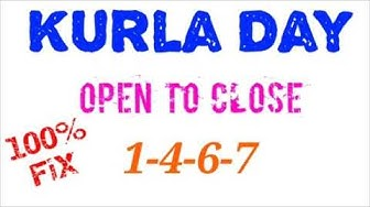 Kurla Day Open To Close 100% fix jodi