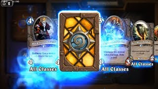 Stampeding Kodo - Classic Hearthstone golden rare card pack opening