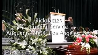 Rick James Funeral 1 of 3
