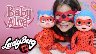 Minha Baby Alive da Ladybug