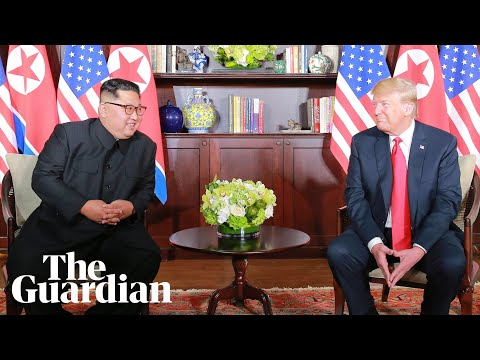 When Trump met Kim: what happened at the Singapore summit