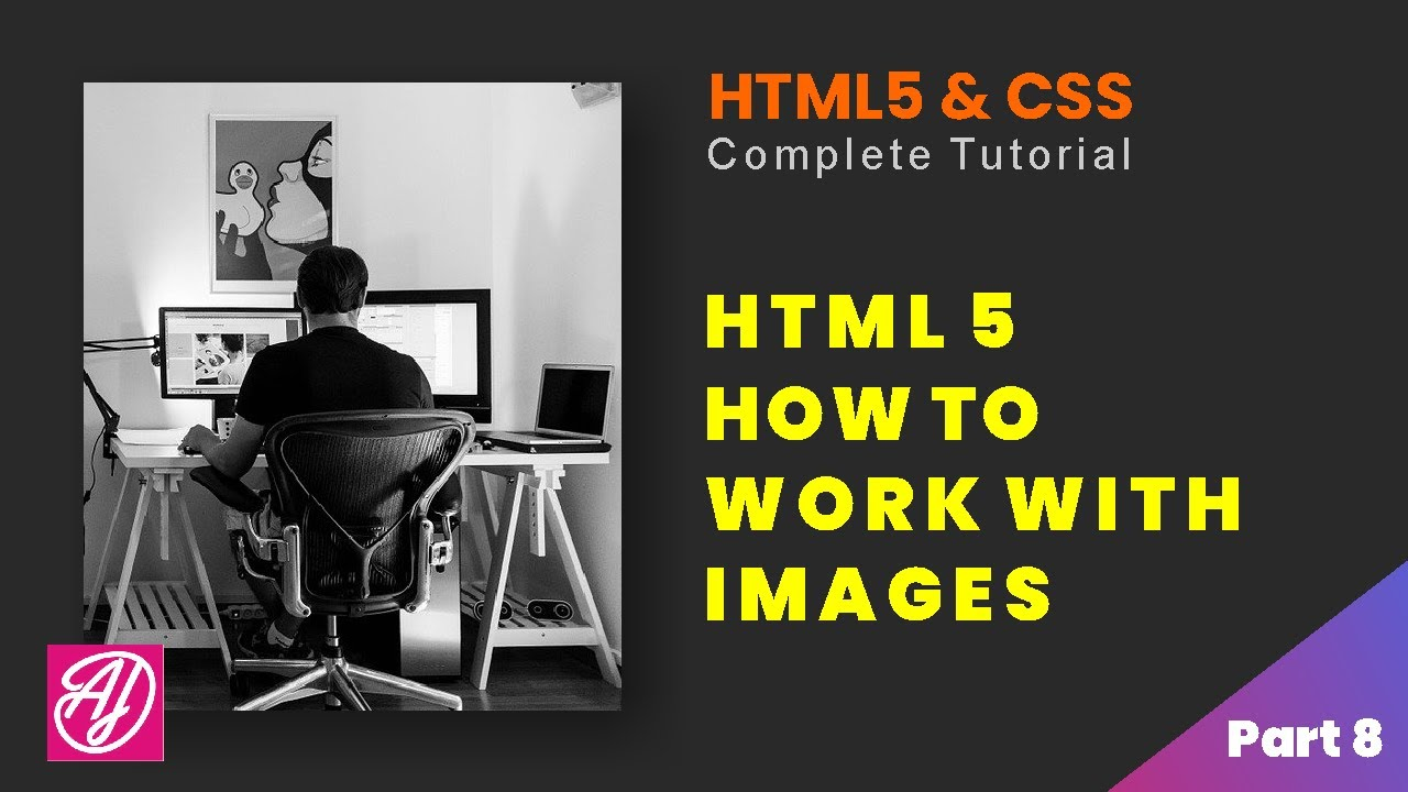 Images - HTML5 and CSS Complete Tutorial Part 8