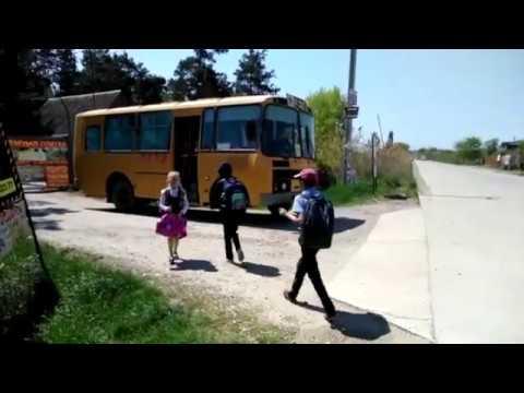 Переезд в Краснодар Школьный автобус