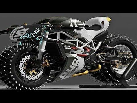 Motor Sultan !!! 5 MOTOR PALING TERMAHAL TERUNIK DAN TERCEPAT YANG ADA DI DUNIA