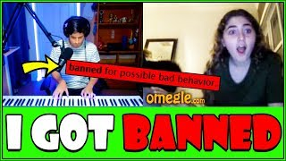 Pianist gets BANNED on Omegle...
