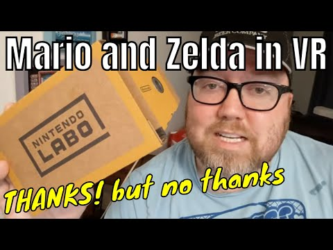 Tried Zelda and Mario VR: Thanks, but No Thanks