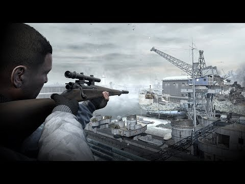 ПОТРЯСНАЯ ИГРА ПРО СНАЙПЕРА ВТОРОЙ МИРОВОЙ НА ПК ! Sniper Elite 4