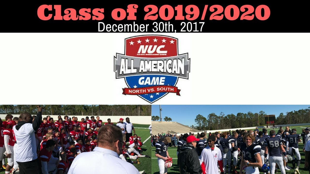 Nuc All American Football Game Scrimmage Class Of 2019