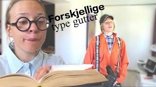 FORSKJELLIGE TYPE GUTTER | Karoline
