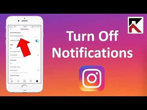 How To Turn Off Notifications Instagram