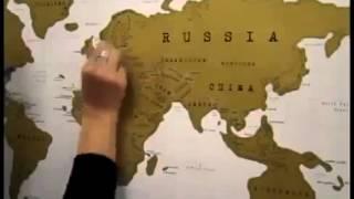 Cкретч-карта мира в подарочном тубусе на английском языке(, 2014-06-12T14:11:39.000Z)