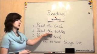Читання (ЗНО, англійська): Частина 1, відео урок