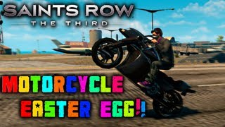 Saints Row 3: Motorcycle Easter Egg!