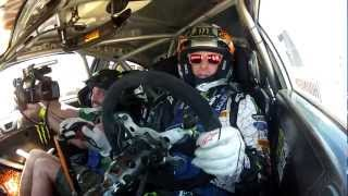 video thumbnail of Ken Block Ford Fiesta H.F.H.V Prior to X Games 2012