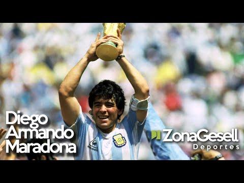 Jugadas de Maradona en México 1986