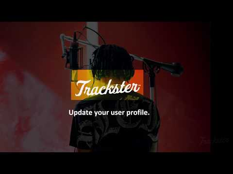 Trackster - Update your user profile