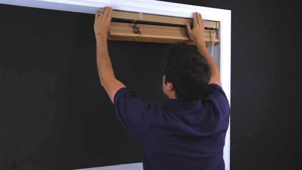 How To Remove And Replace A Horizontal Wood Blind