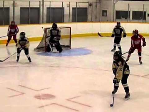 Victoria Ice Hawks Peewee AAA Girls Play Catch