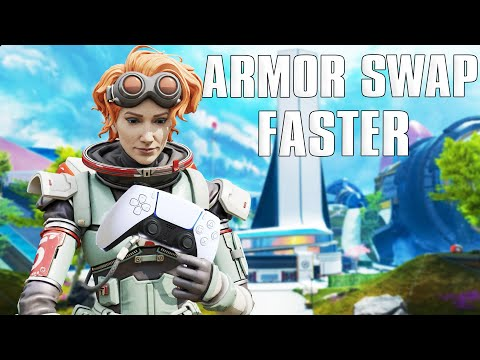 How To Armor Swap FASTER on CONTROLLER | Apex Legends PS4 & Xbox One