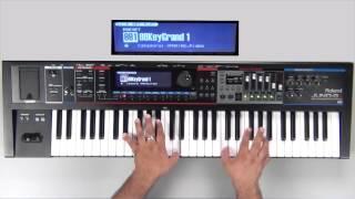 roland juno gi sound examples preset 001 88 keygrand 1