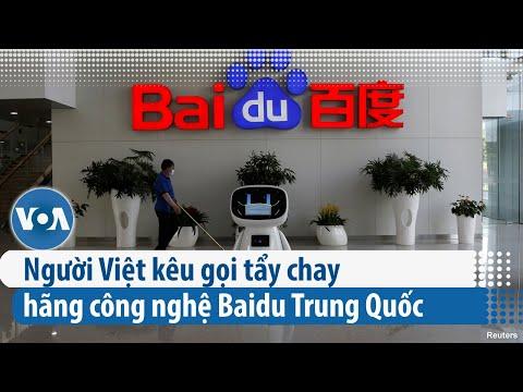 Người Việt kêu gọi tẩy chay hãng công nghệ Baidu Trung Quốc (VOA)