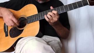 Belajar Fingerstyle Gitar Wayfaring Stranger Instrumental