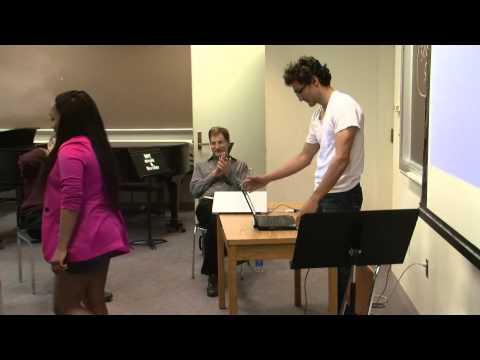Guest Artist Workshop 3.2: Electronics student demonstrations