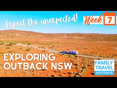 Traveling Outback NSW +  Broken Hill Australia's First Mining town