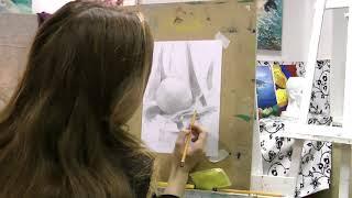 Уроки рисунка для начинающих в студии