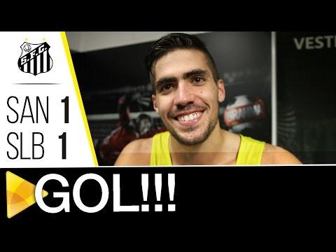 Santos 1 x 1 Benfica | GOL | #Vila100 (08/10/16)