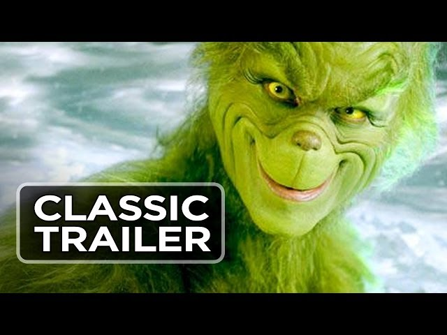 The Grinch should have quit after stealing Christmas the first time