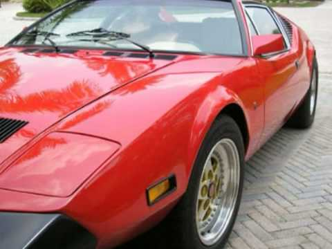 for sale 1974 pantera de tomaso for sale hottest of exotic sports cars youtube. Black Bedroom Furniture Sets. Home Design Ideas