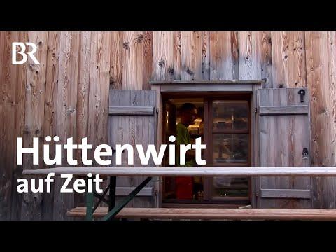 Klettern neben der Alpspitze   Hüttenwirt auf Zeit   Bergauf-Bergab   17.9.2017   Ganze Sendung