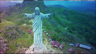 Download Patung Tuhan Yesus tertinggi di dunia ][ Budaya Toraja ][ Buntu Burake ][ Toraja ][ Toraja Utara