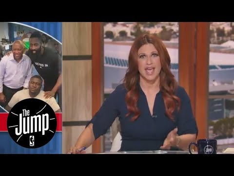 Rachel Nichols 'thrilled' to see athletes donating to Hurricane Harvey victims  The Jump  ESPN