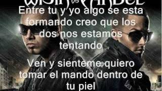 Wisin & Yandel Ft Franco el Gorila , Jayko - Me Estas Tentando Official Remix with lyrics con letras
