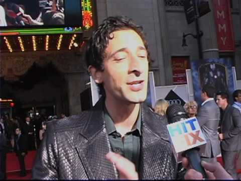 Adrien Brody talks about Splice and Predators