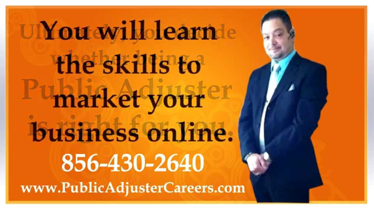 how to become a successful public adjuster in nj or pa metro rh youtube com Nce Exam Study Guide Exam Study Guide Book
