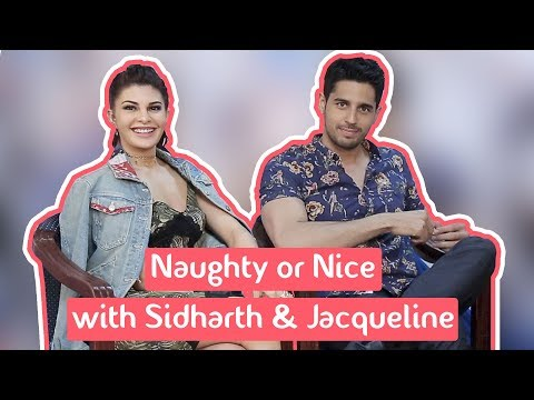 Thumbnail: Naughty Or Nice With Sidharth Malhotra And Jacqueline Fernandez