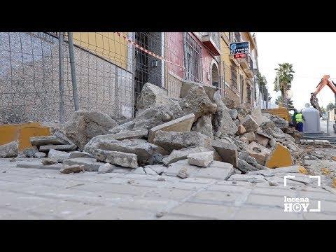 VÍDEO: Comienzan las obras de eliminación de barreras arquitectónicas en la zona alta de La Calzada