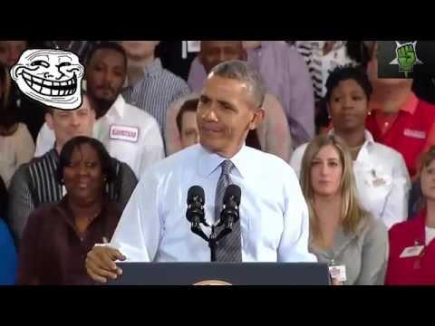 Barack Obama Singing Shake It Off by...