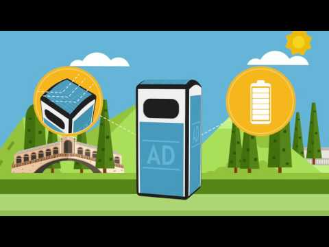 SMART BIN  BINOLOGY  FOR THE WASTE MANAGEMENT (WASTE COLLECTION TECHNOLOGY) - WWW.BINOLOGY.COM