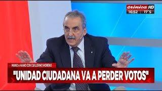Guillermo Moreno &quotAlberto Fernandez no es el candidato, Cristina se equivoco&quot
