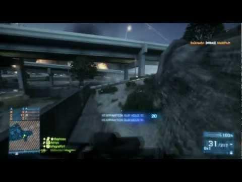 [Battlefield 3 (Max Settings)] Match à mort en escouades - Autoroute de Téhéran