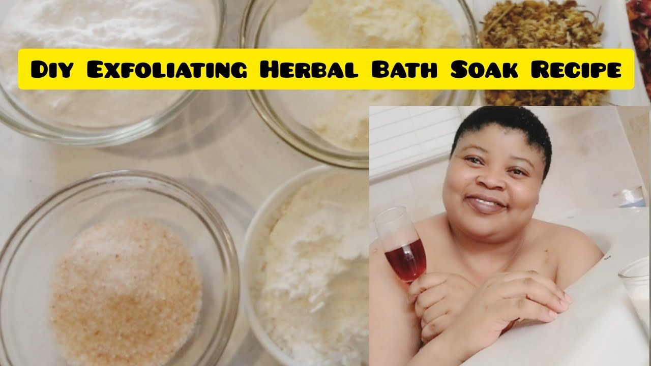 HOW TO MAKE THE BEST EXFOLIATING BATH SOAK SALT | HOME SPA SALT RECIPE | NG STYLES ORGANIC BEAUTY