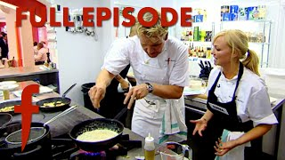 Spice Girl Emma Bunton Cooks In Gordon Ramsay's Kitchen   The F Word FULL EPISODE With Foxy Games